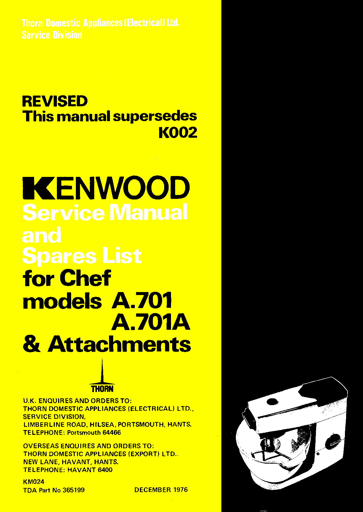 how to repair a kenwood chef motor rh britishexplorers com kenwood chef a901 service manual kenwood mixer a901 service manual