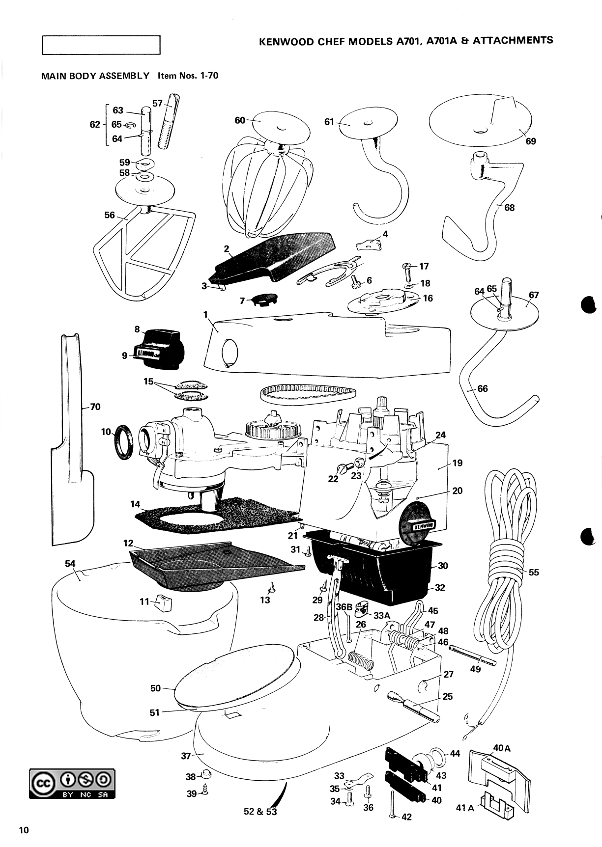 kenwood chef a901 circuit diagram