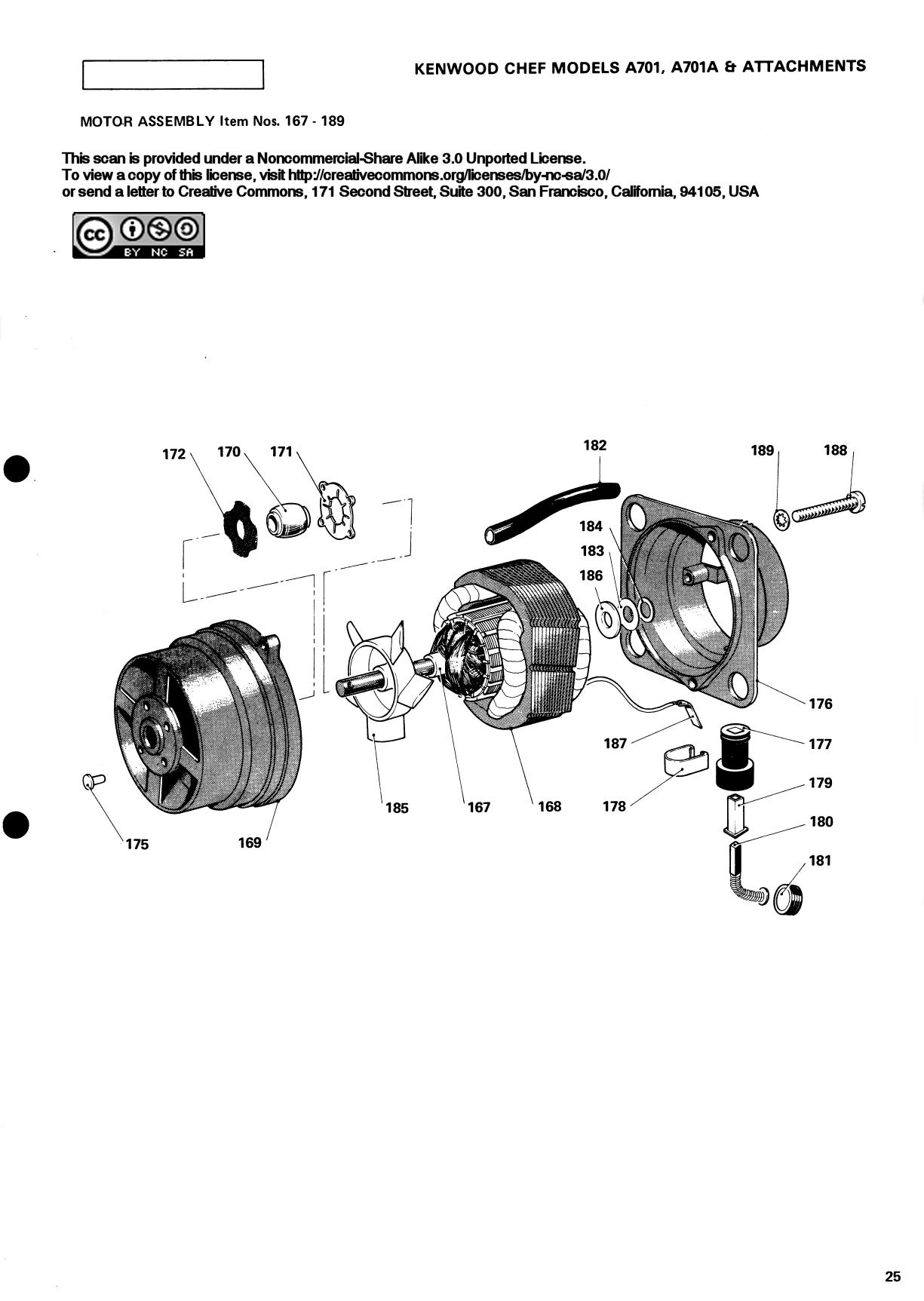 How To Repair A Kenwood Chef Motor Type 181 Wiring Diagram Of