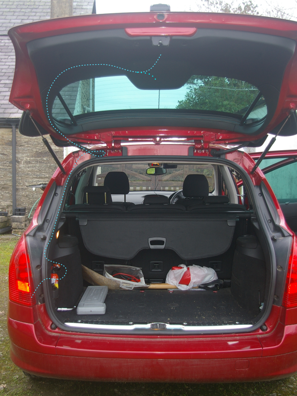 Astounding How To Fit A Wireless Reversing Camera To A Peugeot 308Sw Estate Wiring 101 Archstreekradiomeanderfmnl